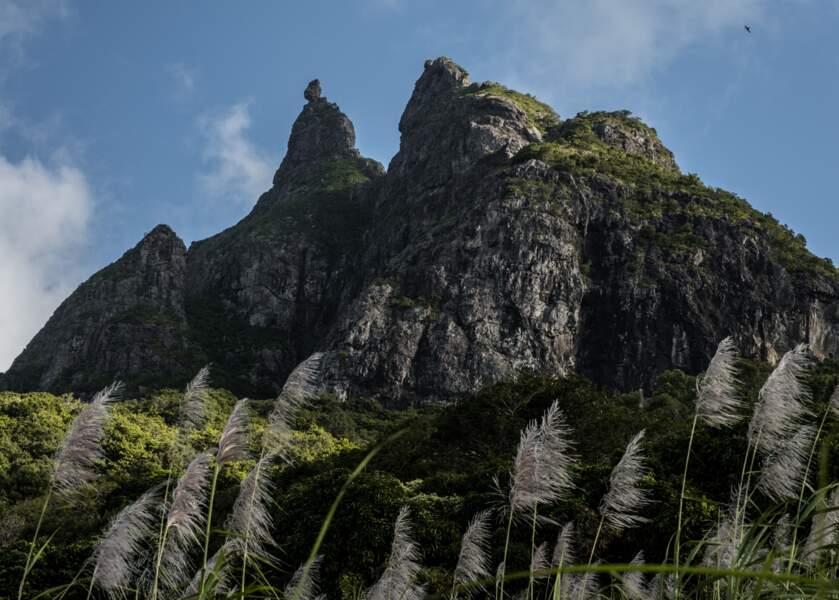 Au sommet du Pieter Both, un rocher nourrit les légendes