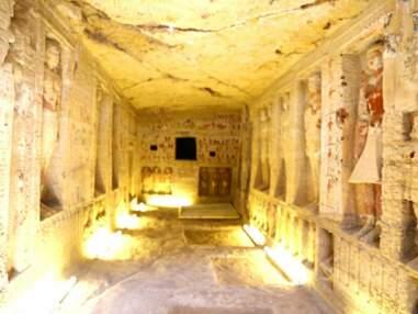 Une tombe vieille de 4400 ans découverte en Egypte