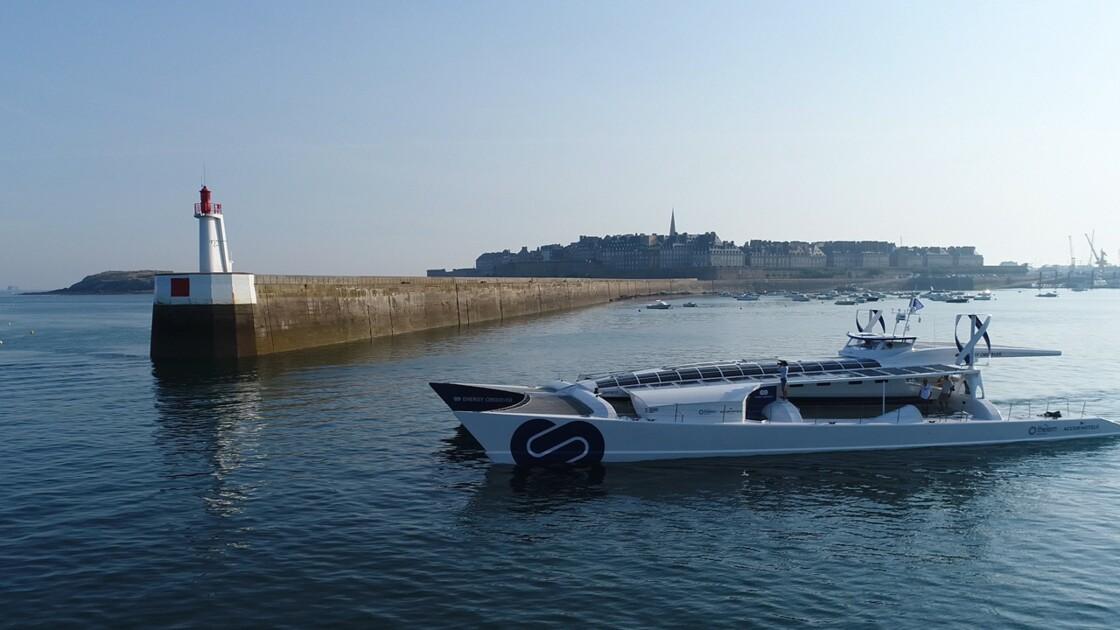 Après 16 mois de voyage, le navire écologique Energy Observer tire son premier bilan