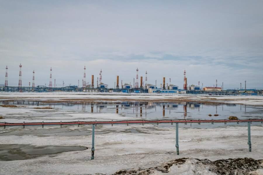 De colossales infrastructures sur la péninsule de Yamal, au nord-ouest de la Sibérie