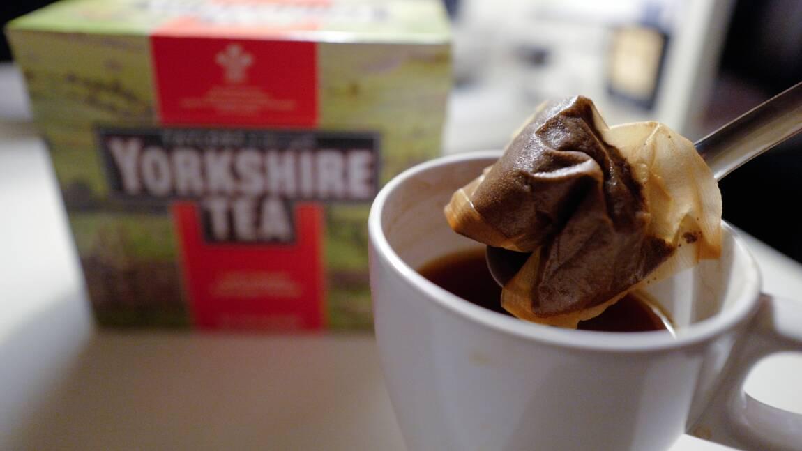 Royaume-Uni: polémique sur des sachets de thé écolos trop fragiles