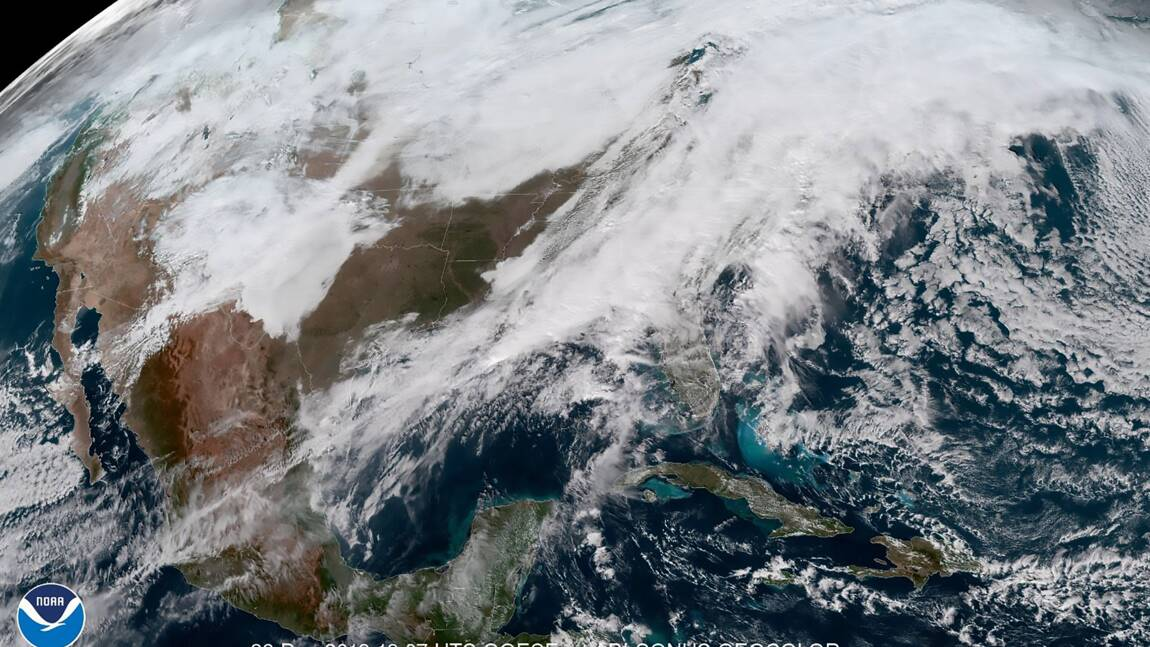 Les Etats-Unis balayés par une tempête de neige et de fortes pluies: 6 morts