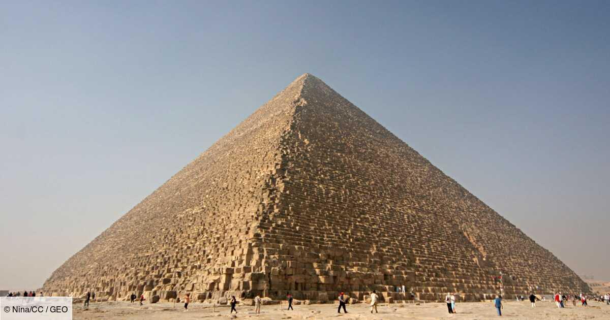 Comment la pyramide de Khéops a-t-elle été construite ?