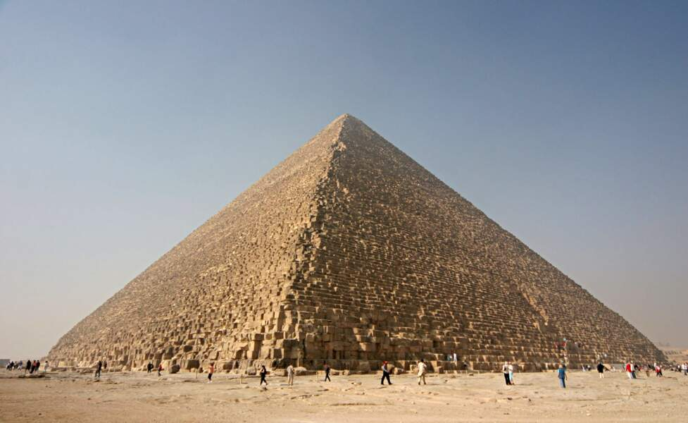 15 - La Grande pyramide de Gizeh, Egypte