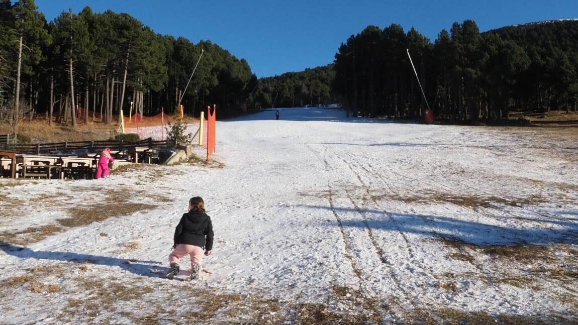 L'enneigement dans les Pyrénées au plus bas depuis 22 ans