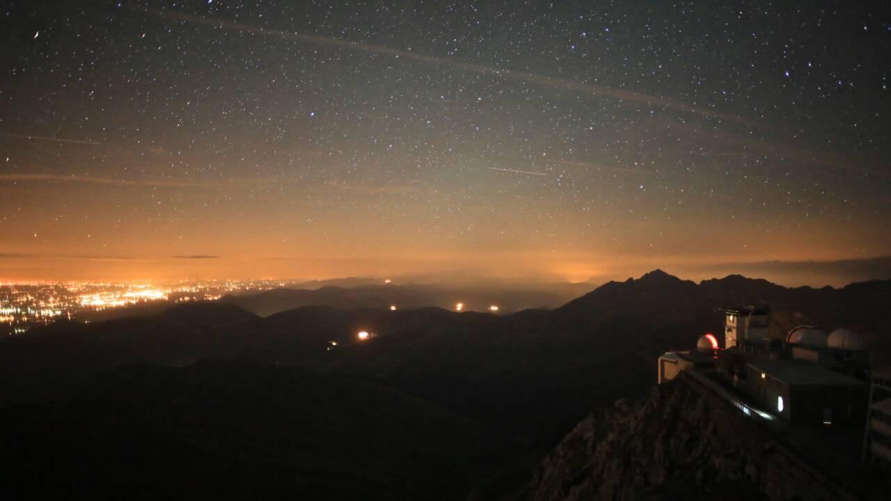 On a passé la nuit à l'Observatoire du pic du Midi