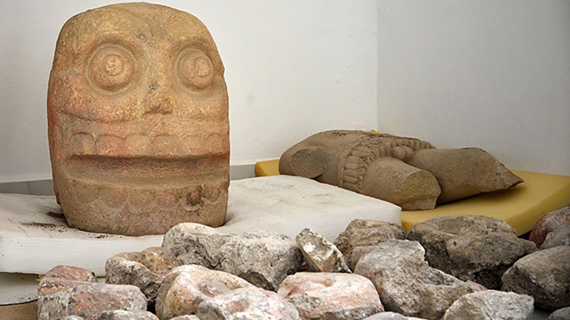 Un temple dédié au dieu aztèque Xipe Totec révélé pour la première fois au Mexique