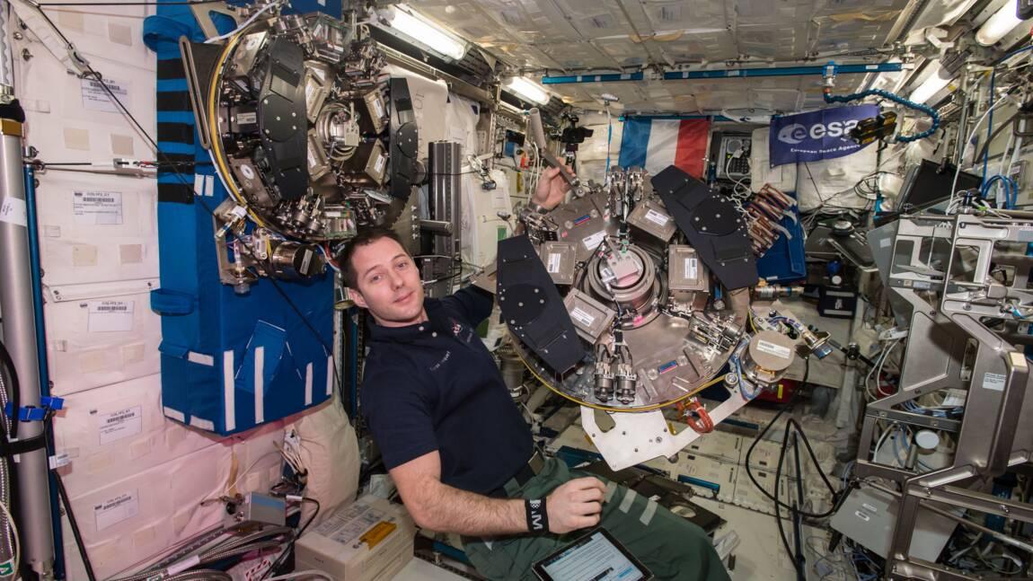 Une chercheuse a analysé l'urine de l'astronaute Thomas Pesquet