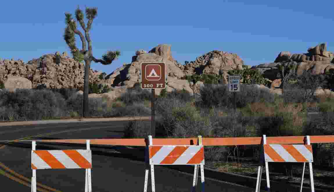 """USA: malmené par le """"shutdown"""", le parc de Joshua Tree va fermer temporairement"""