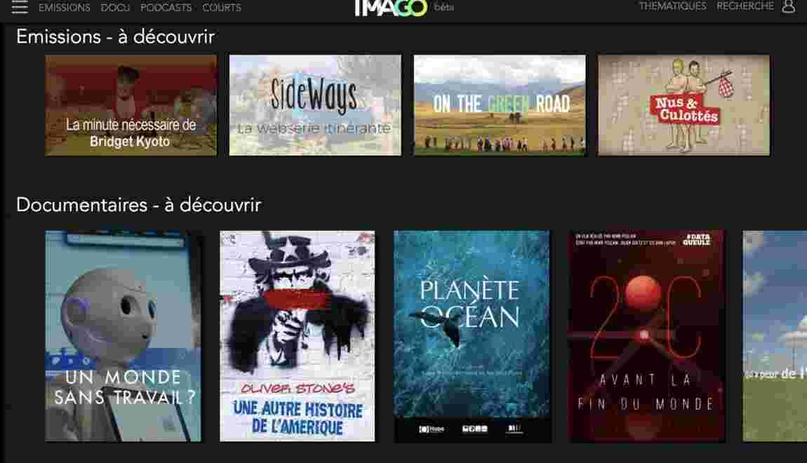 ImagoTV, une nouvelle plateforme en ligne pour découvrir des vidéos écolos et engagées