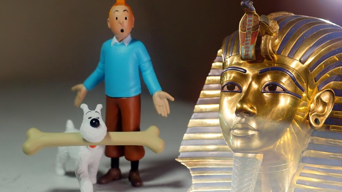 """Tintin et les Cigares du pharaon : comment la """"malédiction de Toutankhamon"""" a inspiré Hergé"""