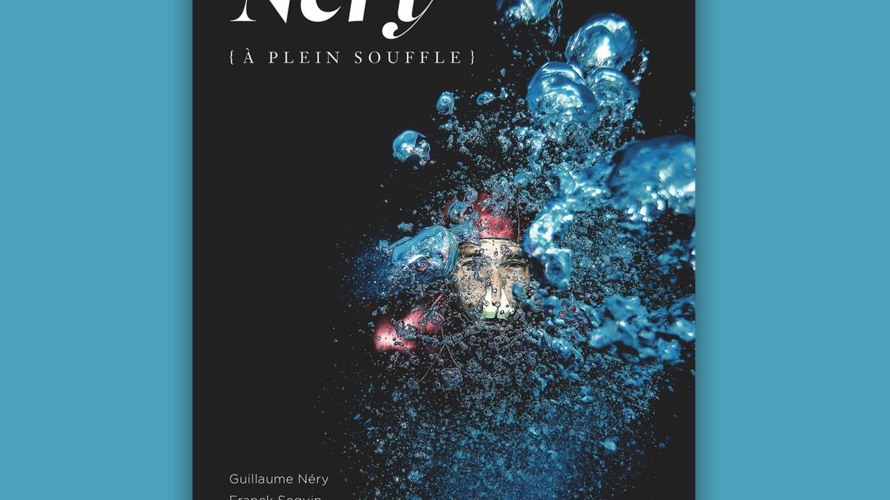 """Guillaume Néry : """"Sous l'eau, j'aime pouvoir marcher, courir, grimper, sauter, voler…"""""""