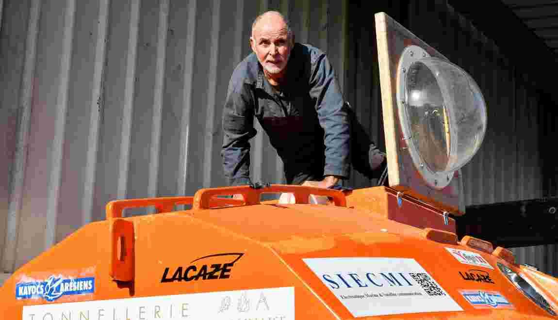 A la veille de ses 72 ans, l'aventurier dans un tonneau sur l'Atlantique a parcouru 400 km