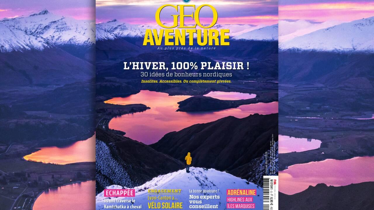 """""""L'hiver, 100% plaisir"""" : le nouveau GEO Aventure est arrivé !"""