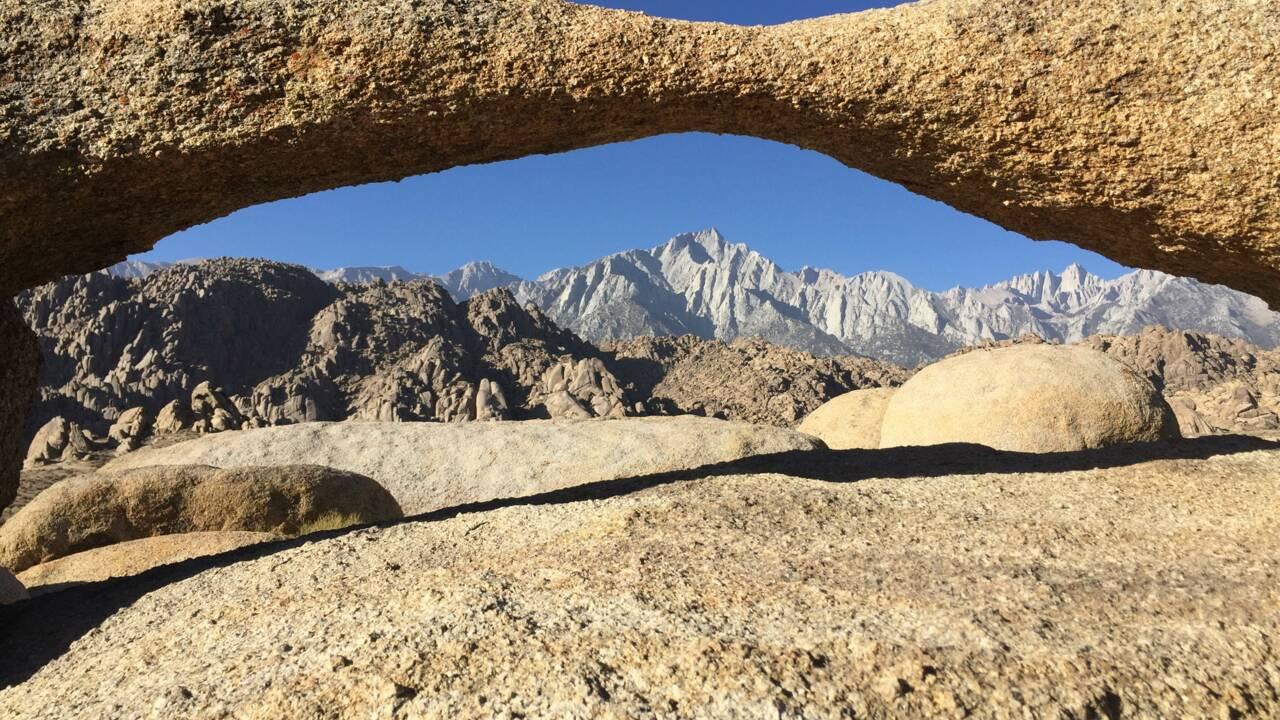 Californie : sur la route, dans l'est sauvage des pionniers