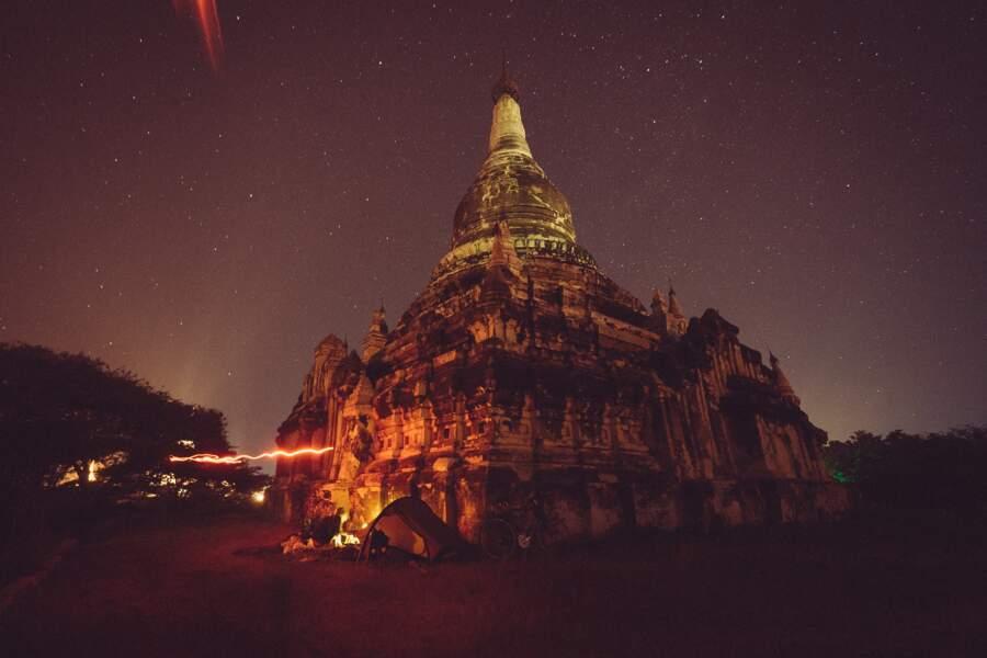 Le lieu des temples et des pagodes