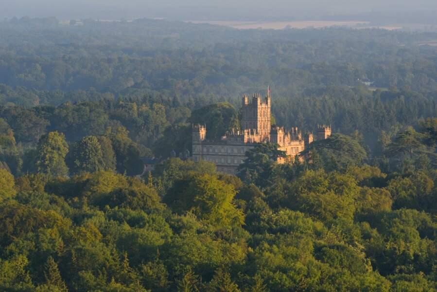 Château de Highclere, dans le Berkshire