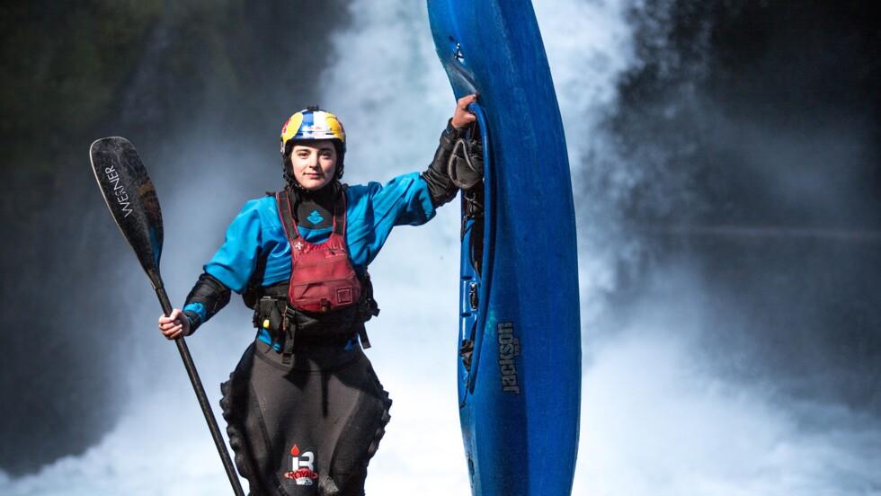 Nouria Newman, la kayakiste qui dompte les rivières du monde entier