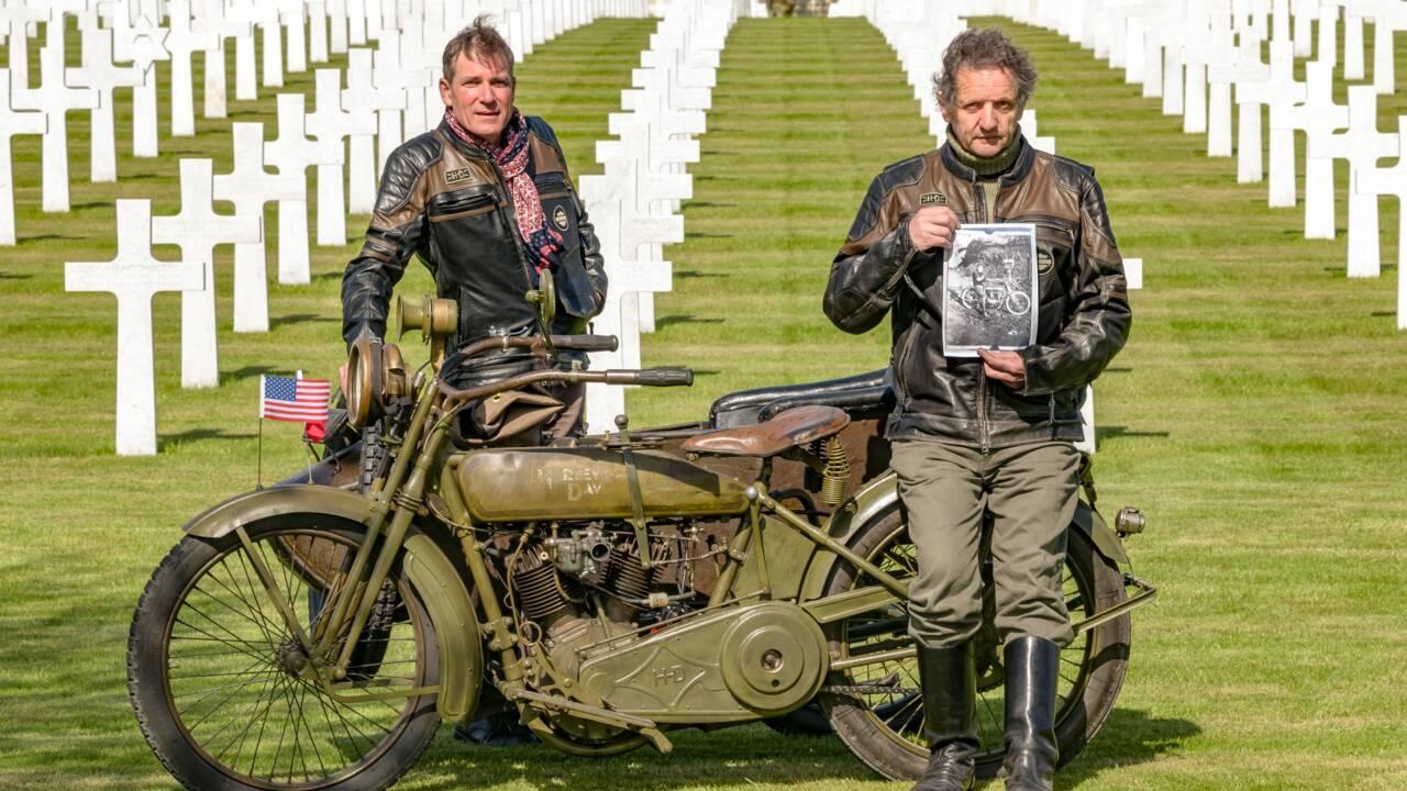 Une moto dans la guerre : l'histoire de Bony, une Harley pas comme les autres