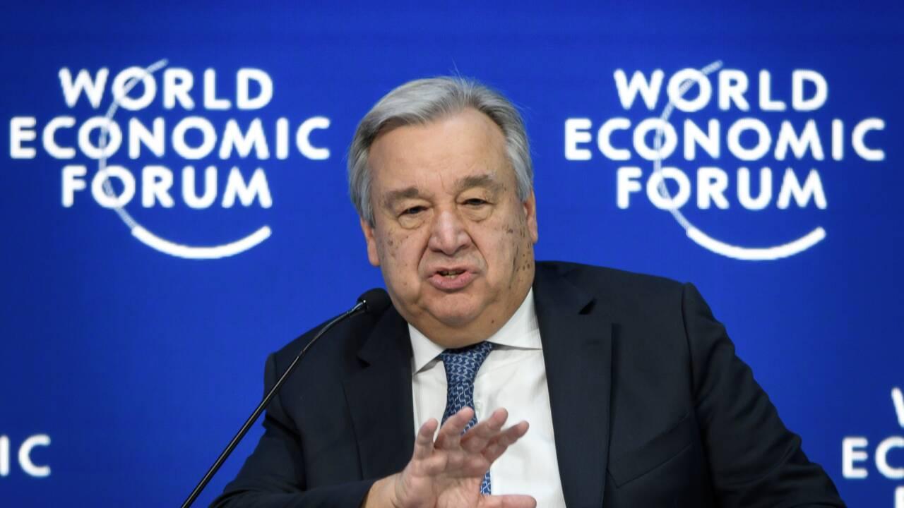 A Davos, le changement climatique au centre de l'attention