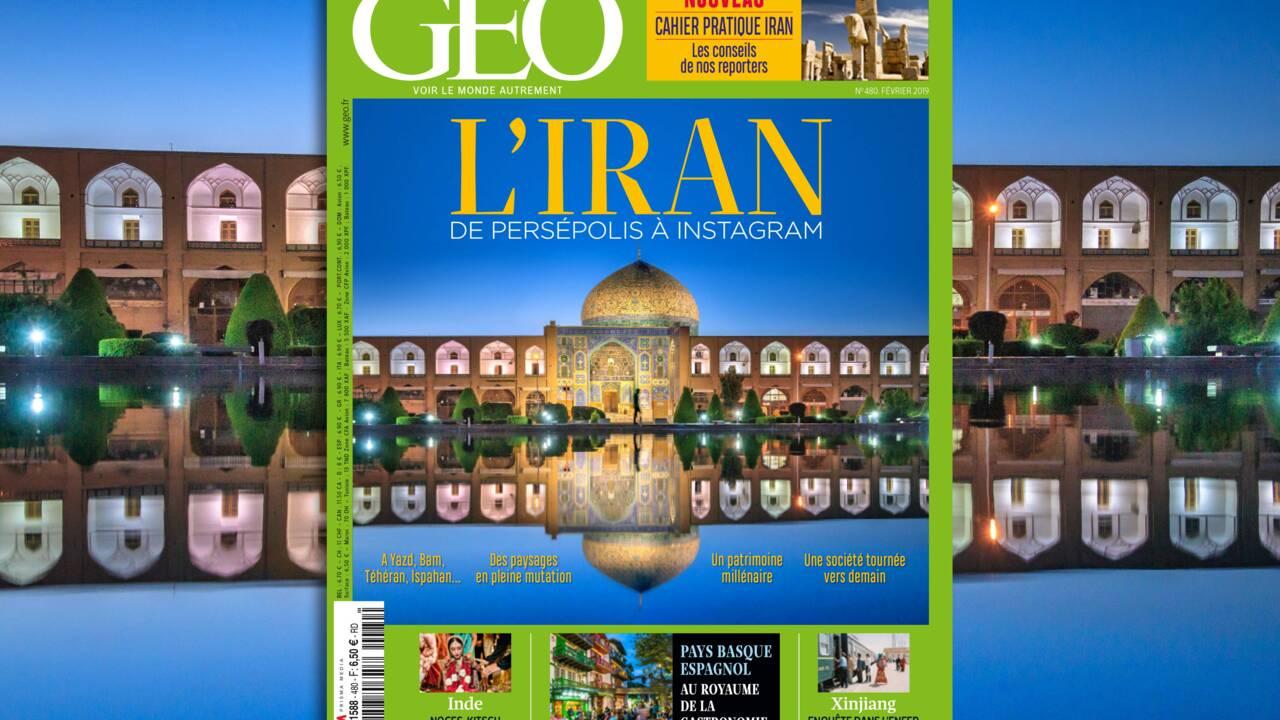 L'Iran au sommaire du nouveau magazine GEO
