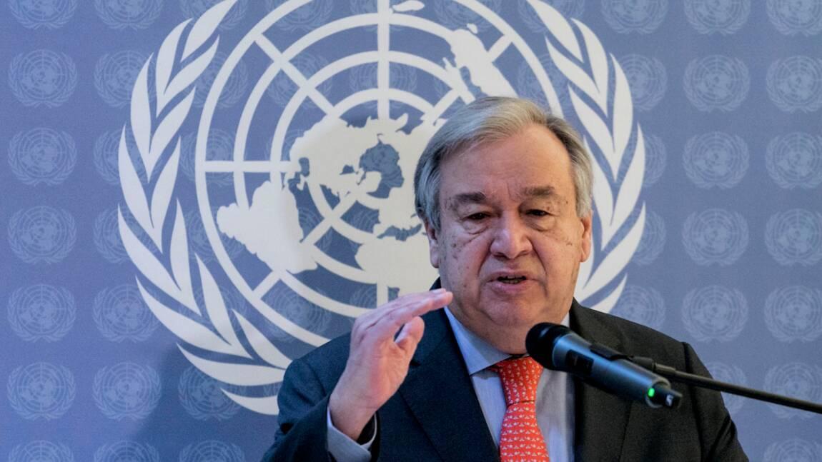 """Climat: """"nous sommes en train de perdre la course"""", avertit Guterres"""