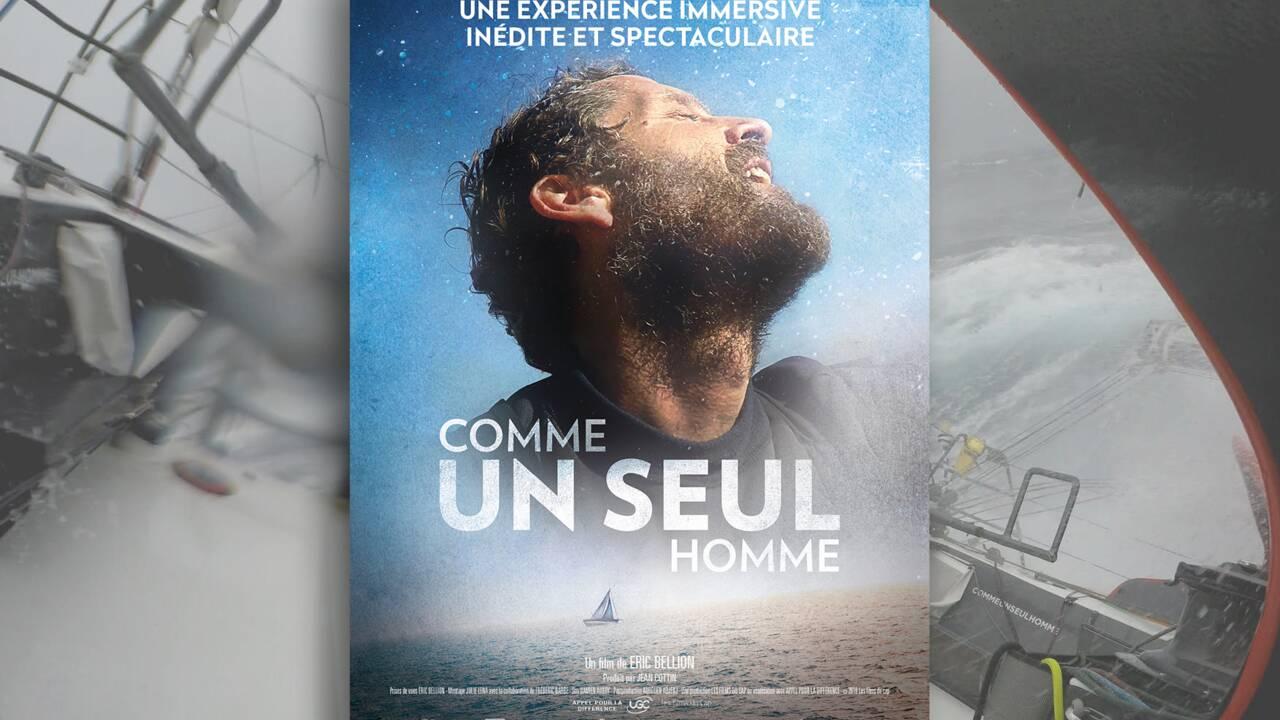 Comme un seul homme : le film épique du navigateur Eric Bellion sur son premier Vendée Globe