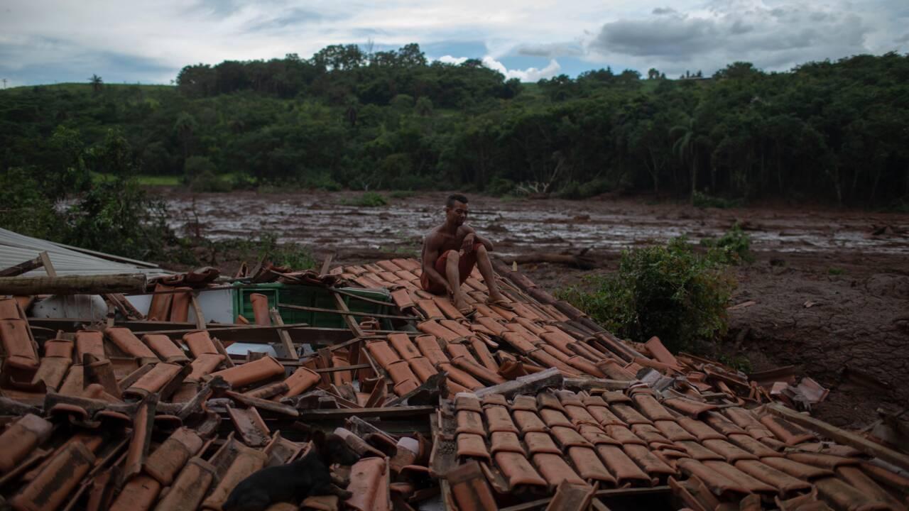 Barrage au Brésil: 34 morts et 300 disparus, recherches suspendues