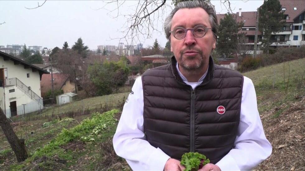 """A Annecy, le chef Laurent Petit donne """"du sens à sa cuisine"""" en optant pour du 100% local"""
