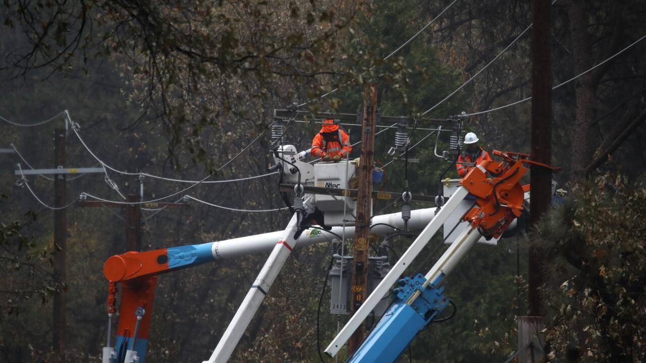 Incendies en Californie: l'électricien PG&E sous le feu des critiques