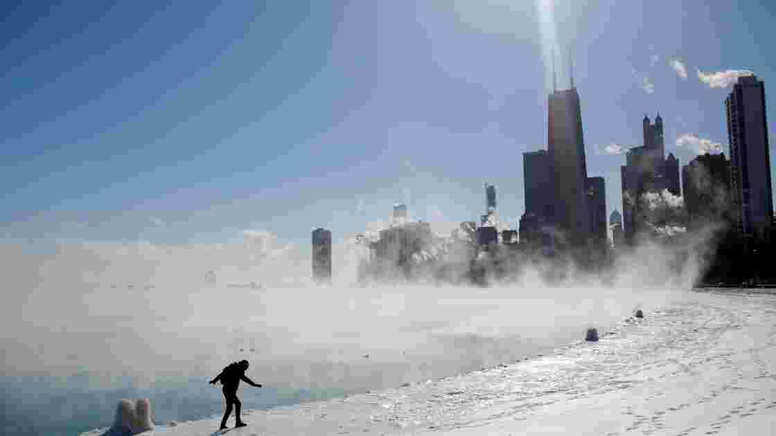 Les Etats-Unis grelottent mais est-ce la faute du changement climatique?
