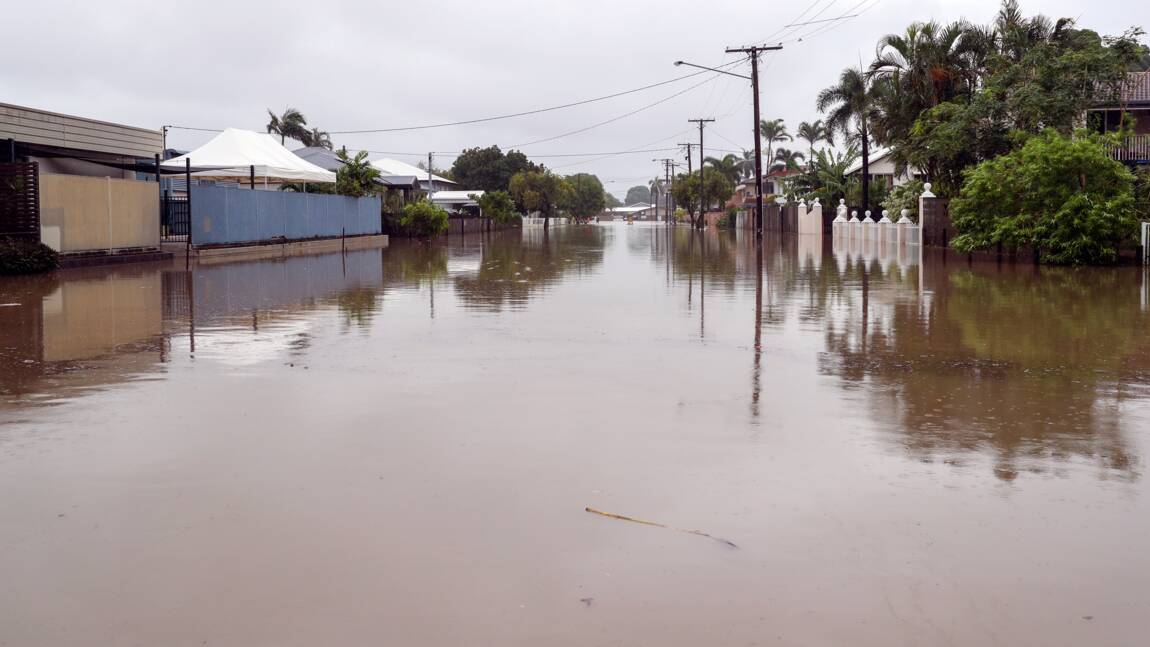 Inondations en Australie: l'armée en renfort, des crocodiles en ville