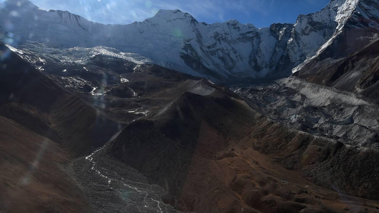 Les deux tiers des glaciers de l'Himalaya pourraient fondre d'ici à 2100
