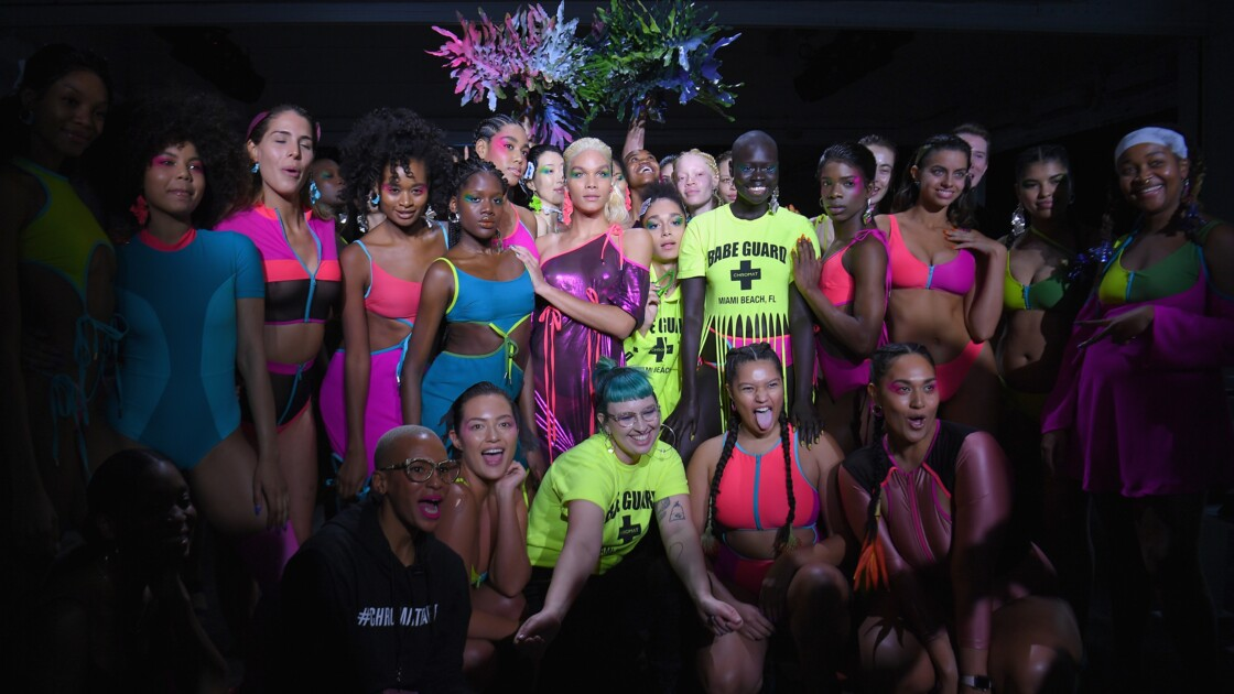 Fashion Week: les maillots Chromat se mobilisent pour le climat