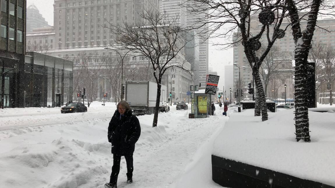 L'est du Canada paralysé par une forte tempête de neige