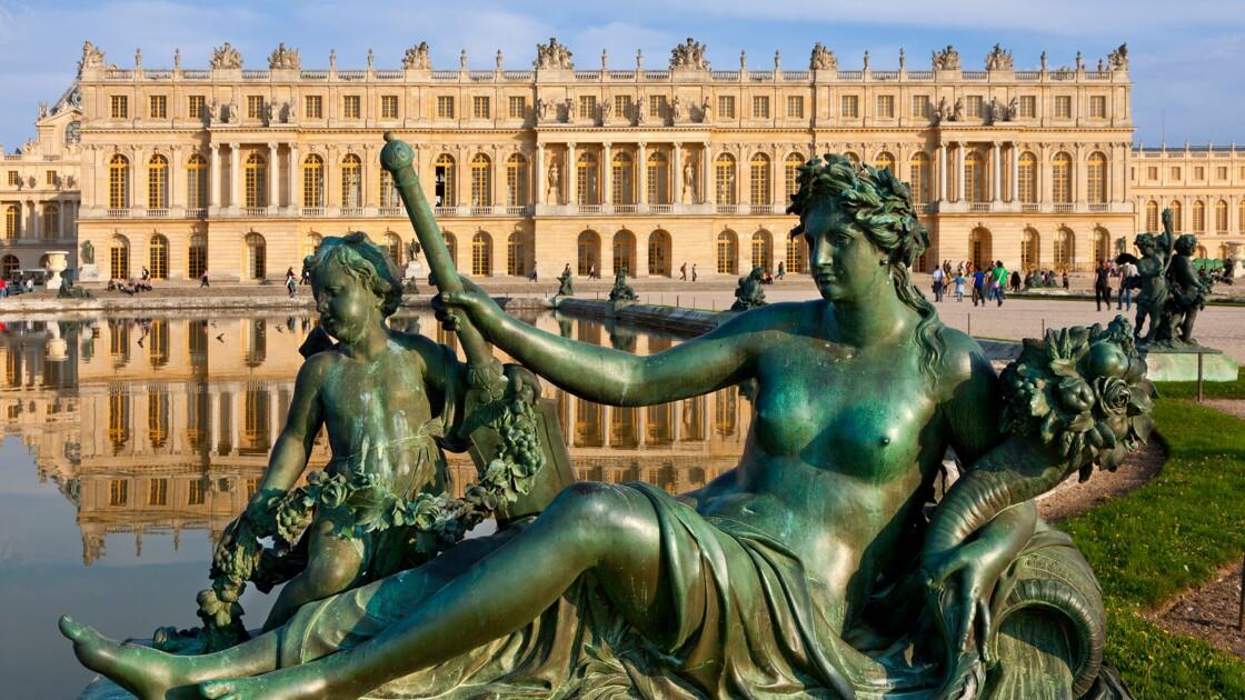 Un Bloc De Marbre Livre Au Chateau De Versailles 349 Ans Apres La