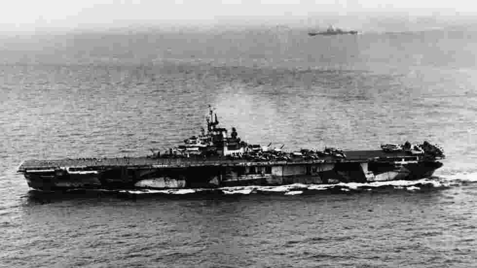Découverte de l'épave du porte-avions USS Hornet dans les profondeurs du Pacifique
