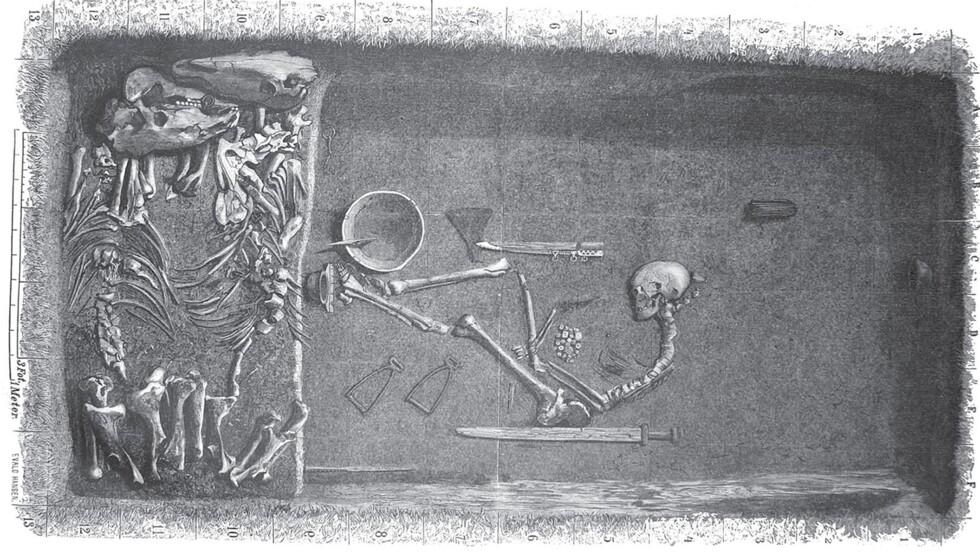Le guerrier Viking de plus de 1000 ans découvert en Suède serait bien une femme