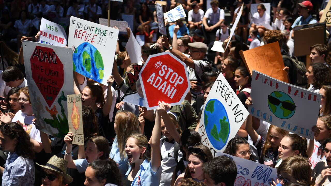 De Sydney à Bruxelles, la mobilisation des jeunes pour le climat