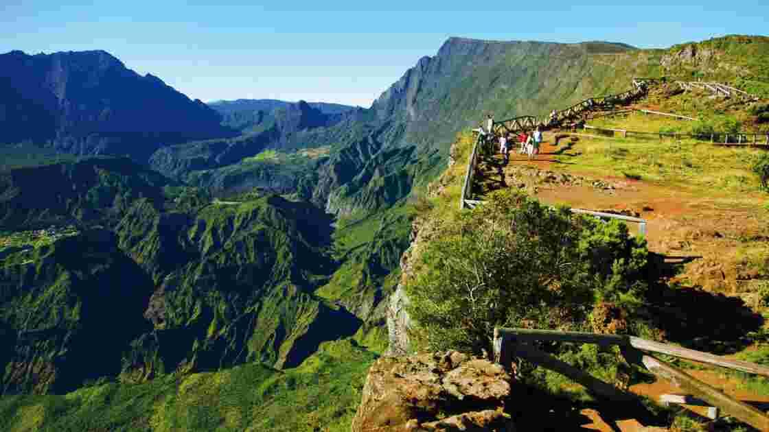 Île de La Réunion, le piton Maïdo : un balcon en montagne