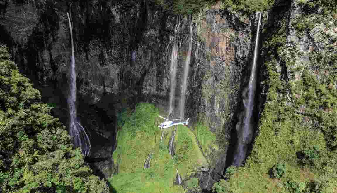 Île de La Réunion, Trou de Fer : une cascade de sensations
