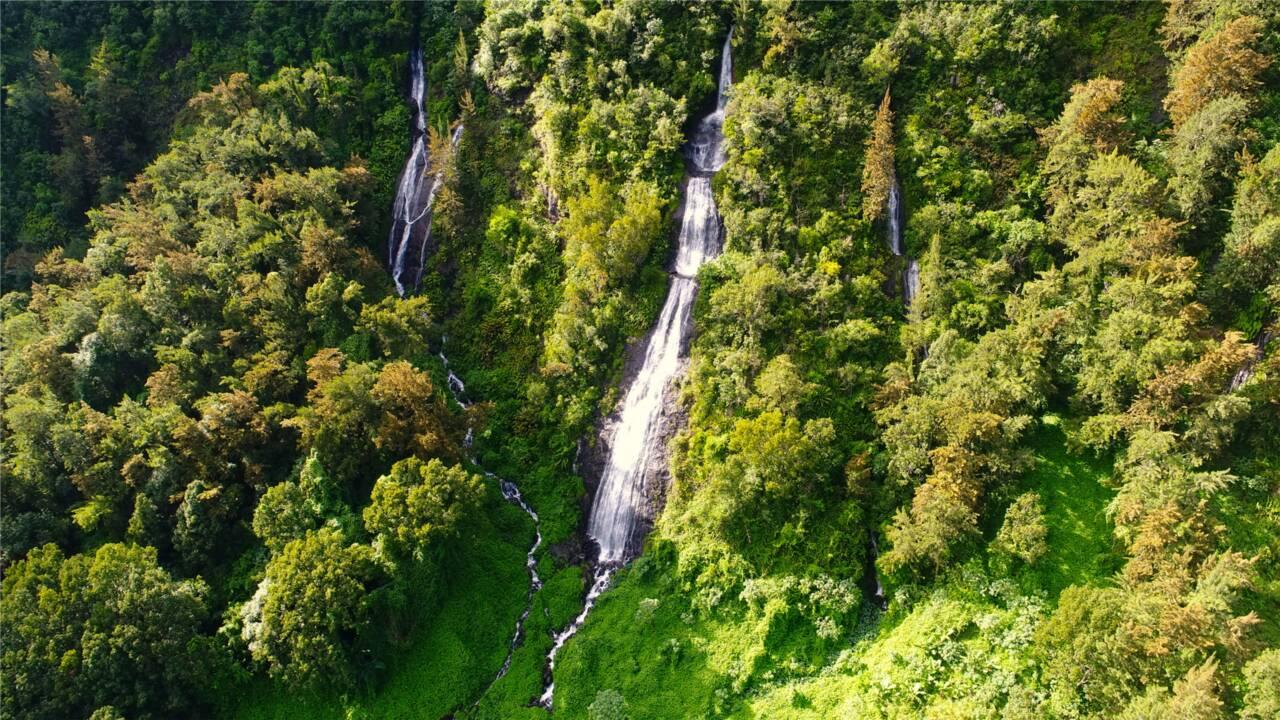 Île de La Réunion : quand Salazie déploie son Voile de la Mariée