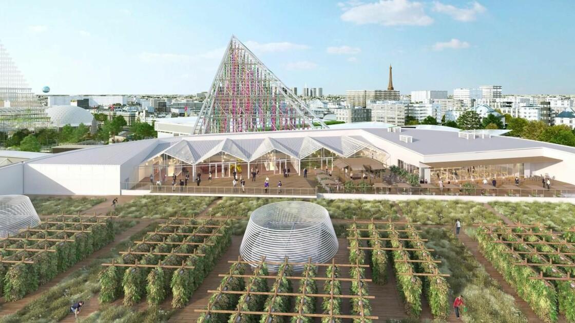 La plus grande ferme urbaine du monde située sur un toit ouvrira ses portes à Paris en 2020