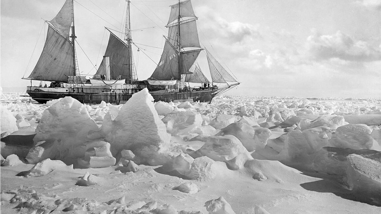 Une équipe de recherche échoue à retrouver le voilier d'Ernest Shackleton