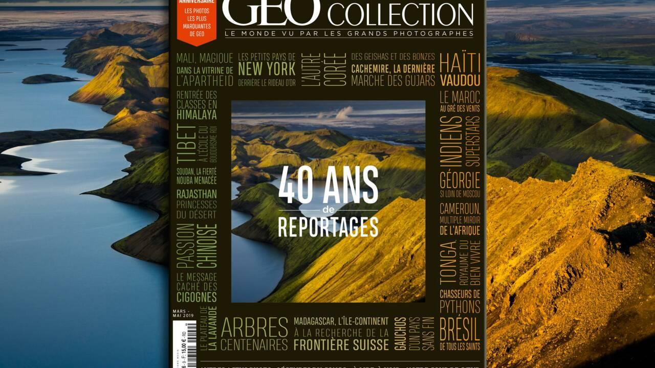 40 ans de reportages dans le nouveau GEO Collection