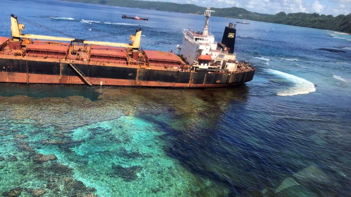 Début de marée noire aux Salomon: la Nouvelle-Zélande envoie des experts