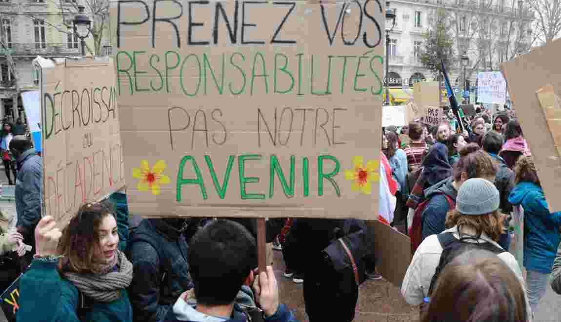 Climat: Macron recevra lundi le laboratoire d'idées One Planet Lab