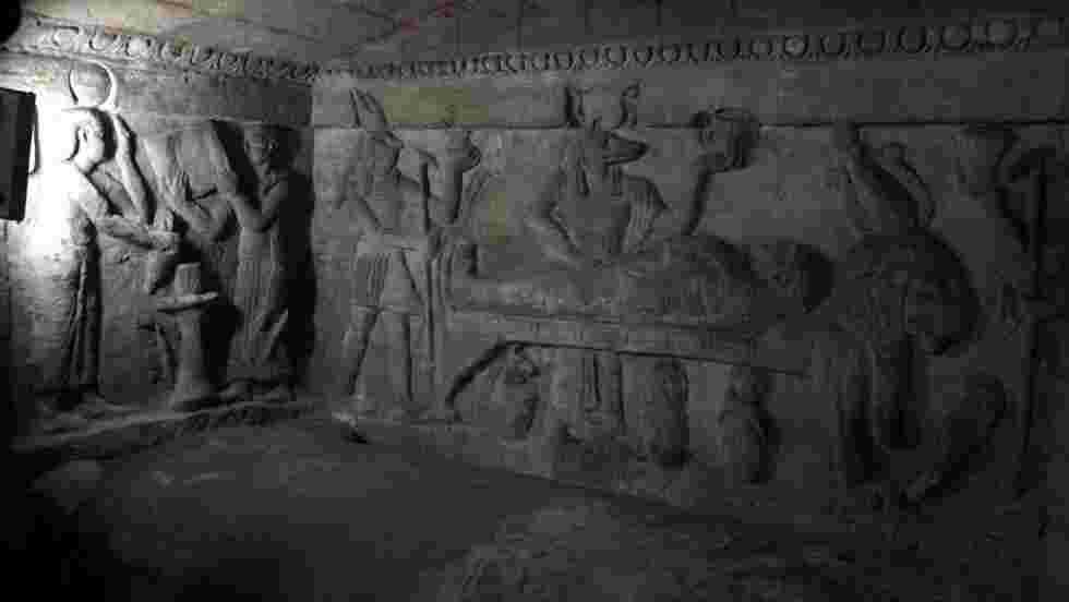 En Egypte, les catacombes d'Alexandrie enfin à l'abri de la montée des eaux