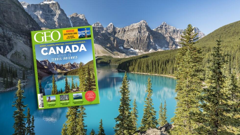 Le Canada dans le nouveau magazine GEO
