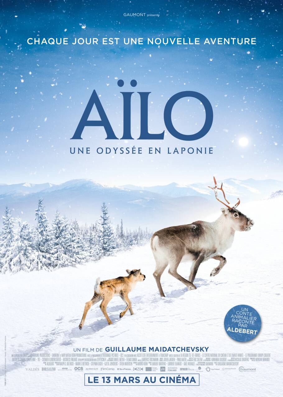 Aïlo, une magnifique aventure en Laponie à la rencontre des rennes sauvages